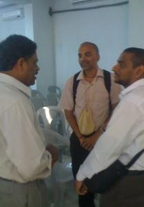 <h3> SCSMath Scientific College Preaching at VVIT, Guntur</h3>