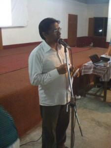 <h3> SCSMATH Scientific Preaching in Andhra Loyola College, Vijayawada</h3>